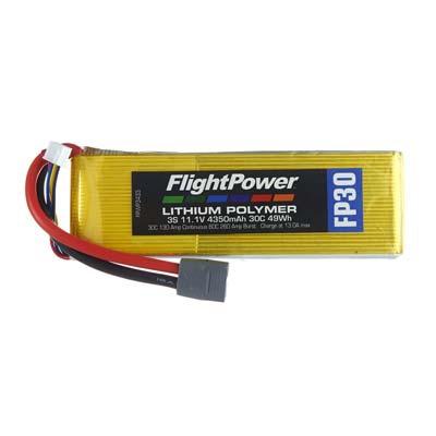 LiPo FP30 11,1 V, 4350mAh FPWP3433