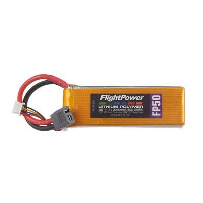LIPO FP50 11,1 V, 2200mAh FPWP5223