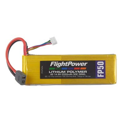 LIPO FP50 14,8 V, 2550mAh FPWP5254