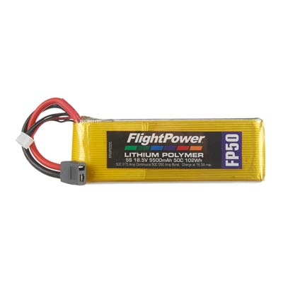 LIPO FP50 18,5 V, 5500mAh FPWP5555