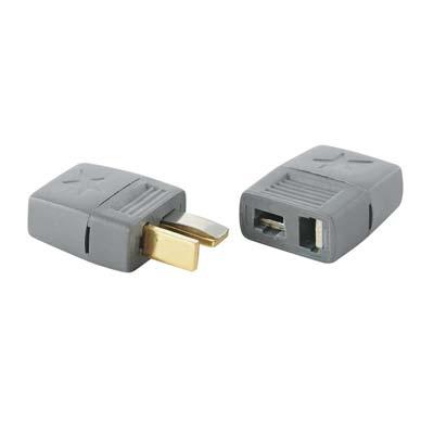 Star Plug 1 Paar (1x Stecker, 1x Buchse) HCAM4001