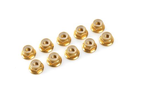 Sechska. M3 mit Bund Gold, Aluminium 10pcs HCAQ6670