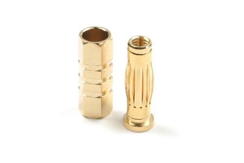 4.0mm Goldstecker Car, Stecker + Buchse 4paar HCAQ7004