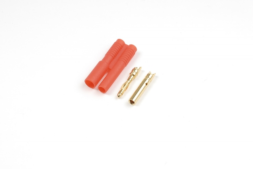 2.0mm Goldstecker mit Kunststoff Gehäuse (4pcs) HCAQ7011