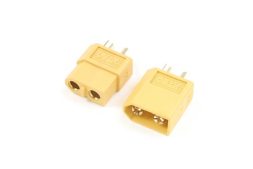XT60 GOLDSTECKER, STECKER + BUCHSE (2PAAR) HCAQ7022