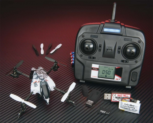 Quadrocopter V-Cam RTF HMXE0836