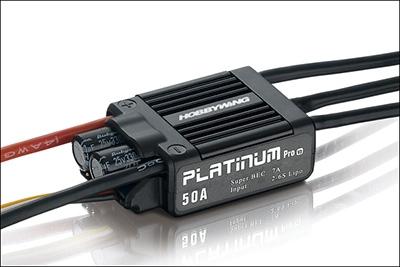 Platinum BL ESC 50A V3 2-6S LiPo HW050001