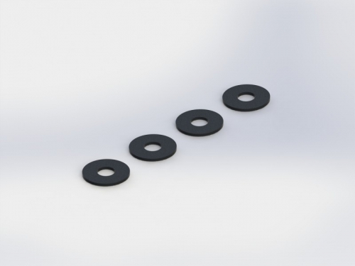 WASHER 3x8x0.5mm (4pcs) TD709072