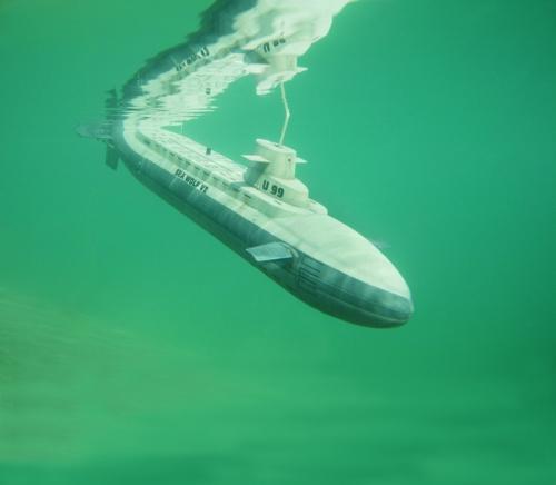 U-BOOT SEAWOLF V2 Robbe 1-1014 1014