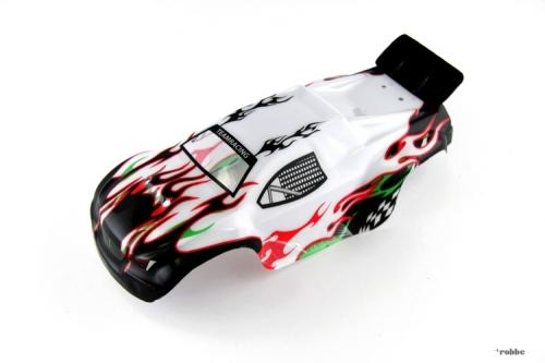 Karosserie weiß Mini Rave Evo Robbe 20410048 1-20410048