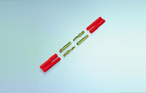 CT-2 STECKER & BUCHSE 10 PAAR Robbe 1-4078 4078