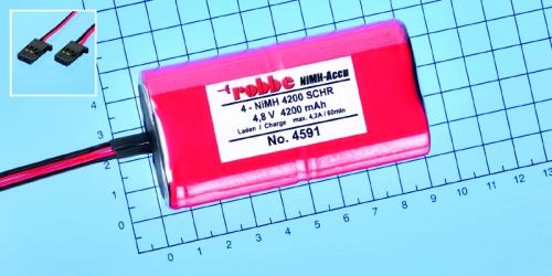 Power Pack 4NiMH 4200 mAh-Duo Robbe 4591 1-4591