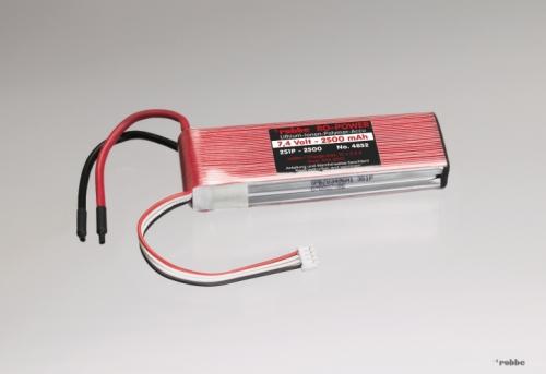 LiPo-Akku 5S 18,5V 2500mAh 20 Robbe 4853 1-4853