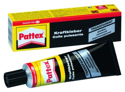 PATTEX KRAFTKLEBER TRANSP. 50G Robbe 1-5019 5019