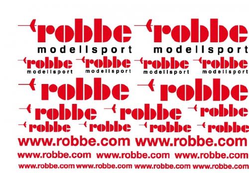 DEKORBOGEN ROBBE Robbe 1-6157 6157