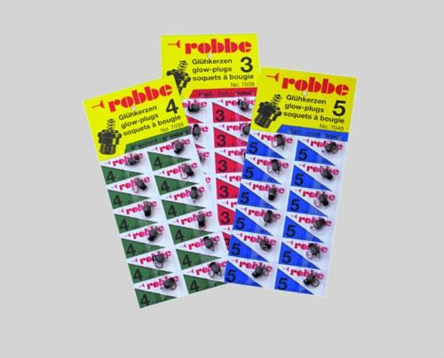 ROBBE-KERZE NR.3 HEISS 1ST Robbe 1-7038