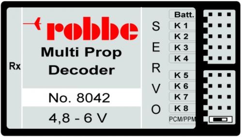 MULTI-PROP 8 DECODER Robbe 1-8042 8042