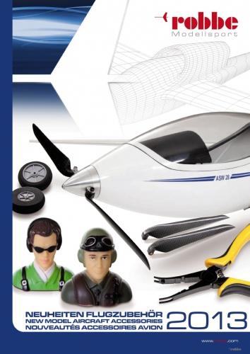 Katalog Flugzubehör 2013 D/GB Robbe 97129300 1-97129300