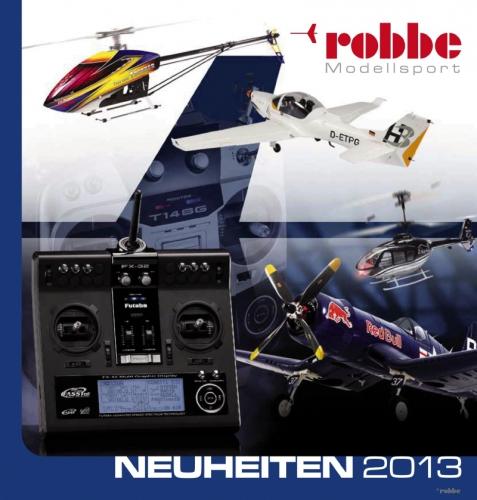 Neuheitenkatalog 2013 deutsch Robbe 97132000 1-97132000