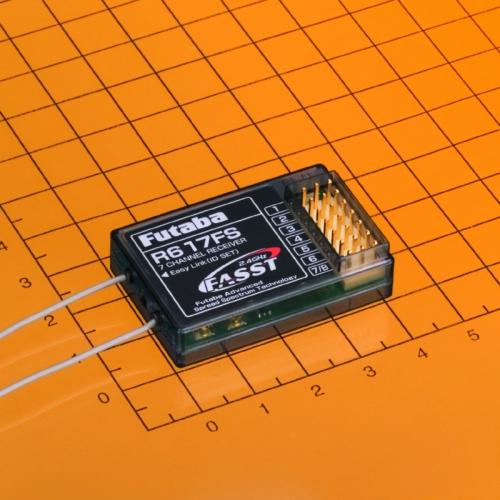 Empfaenger R-617 FS 2,4 GHz Futaba  FASST F0967 1-F0967