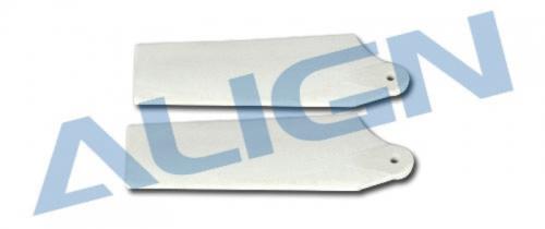 Heckrotorblatt-Set weiss T-RE Align Robbe H25065 1-H25065