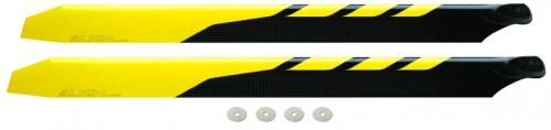 CFK Rotorbl.Satz  430 gelb/sc Align Robbe H50072 1-H50072