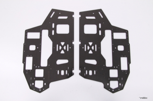 Chassis Set 2mm T-REX 550E Align Robbe H55012A 1-H55012A