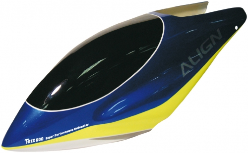 KABINE T-REX 600 GFK BLAU Robbe 1-H60096