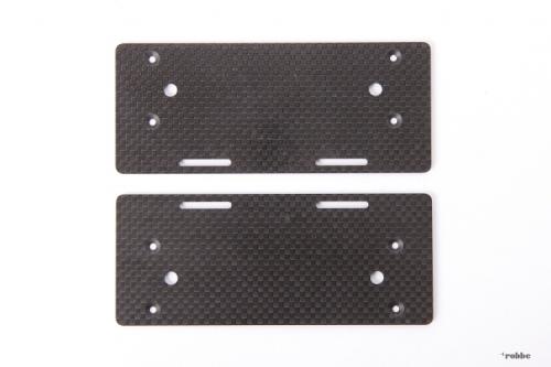 Zusatzakkuträgerplatten T-REX Align Robbe H80T012XX 1-H80T012XX