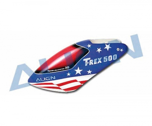 Kabinenhaube GFK  T-REX 500 Align Robbe HC5007 1-HC5007