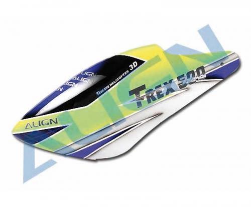 Kabinenhaube GFK  T-REX 500 Align Robbe HC5013 1-HC5013