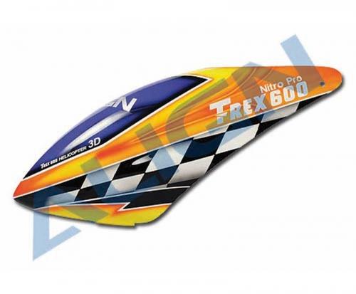 Kabinenhaube GFK  T-REX 600N Align Robbe HC6101 1-HC6101