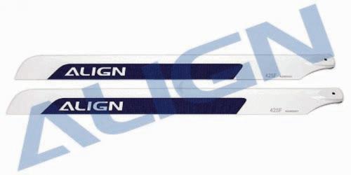 CFK Rotorbl.Satz   425F/10 mm Align Robbe HD420C 1-HD420C