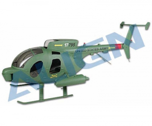 Rumpf T-REX 500 GFK 500D Tarn Align Robbe HF5003 1-HF5003