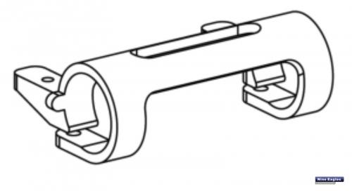 Heckrotorservohalter Solo Pro Robbe NE251520 1-NE251520