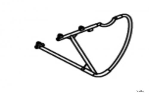 Seitenleitwerk Solo Pro 290 Robbe NE251611 1-NE251611