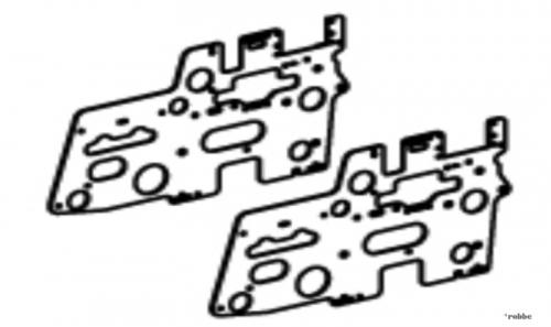 Chassisplatten Solo Pro 290 Robbe NE251621 1-NE251621