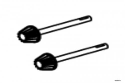 Heckrotorabtrieb-Set Solo Pro Robbe NE251640 1-NE251640