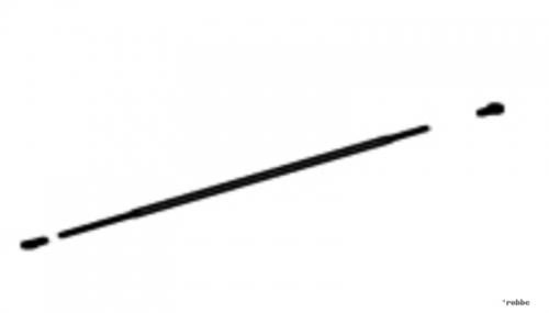 Heckservogestänge Solo Pro 29 Robbe NE251644 1-NE251644