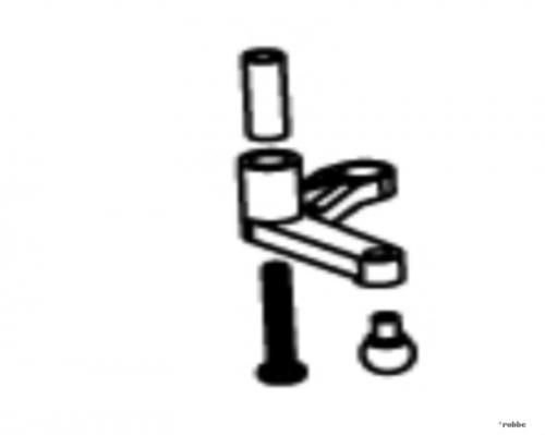Umlenkhebel Heckrotor Solo Pr Robbe NE251647 1-NE251647