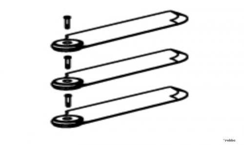 Heckrotorblätter Solo Pro 290 Robbe NE251650 1-NE251650