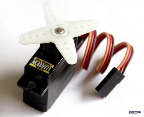 Servo NES 13mm Analog Robbe NE480022 1-NE480022