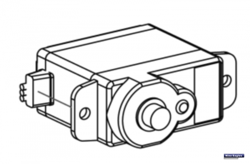 Servo Heck NES 9 g Robbe NE480090 1-NE480090