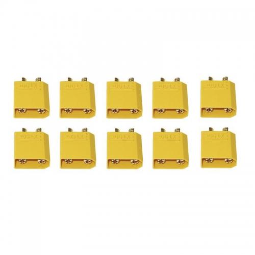 GoldkontaktsteckerXT-90 10 Stück fem. Graupner S8391