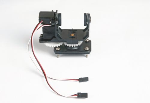 HD19 PAN-TILT mit Servos Graupner S8401