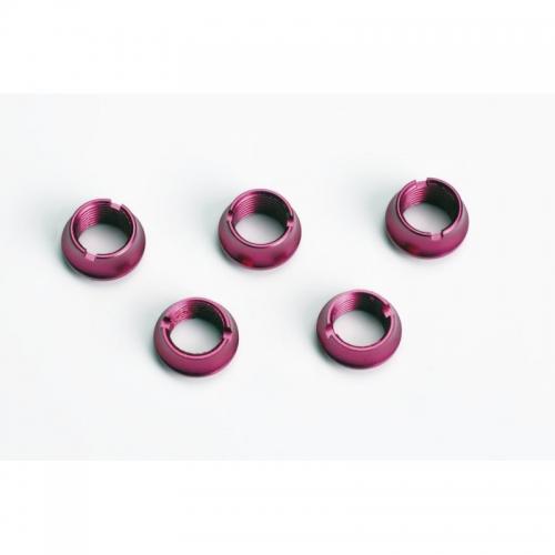 Ziermuttern f.Handsender,purple,3la,2ku Graupner S8525.PU