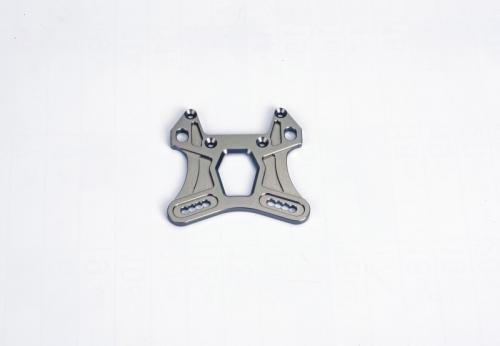 Vord.Stoßdämpferplatine, 998 7075-T651 Graupner S998-B02