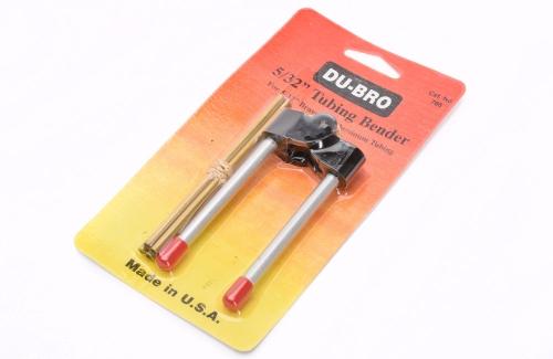 4,0mm Rohrbieger f. Messing / Alu DuBro T-DB786