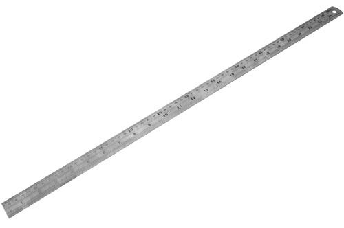 Edelstahllineal - 600mm Rolson