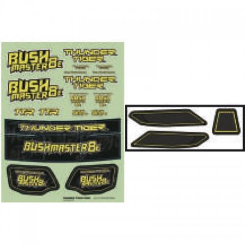 BUSHMASTER8E DECAL Graupner TPD90558S1 ThunderTiger PD90558S1